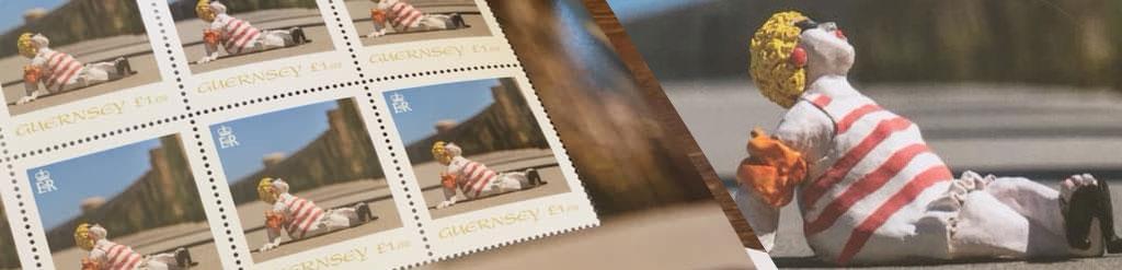 Yasmin Ceramics Guernsey Stamp
